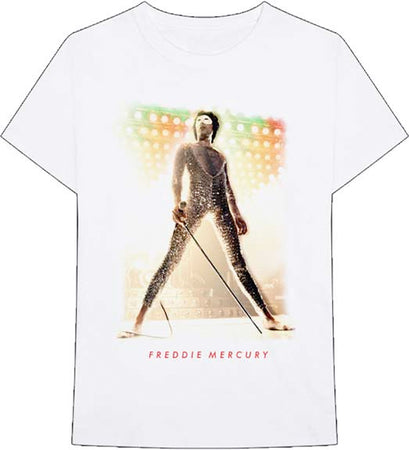 Queen - Freddie Mercury-Mask - White t-shirt