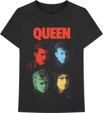 Queen - Hot Space V2 - Black t-shirt