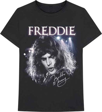Queen - Freddie Mercury-Signature - Black t-shirt