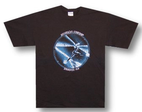 Jefferson Starship Dragonfly Black t-shirt