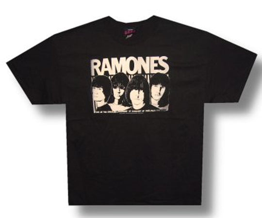 Ramones Odeon Black  T-shirt