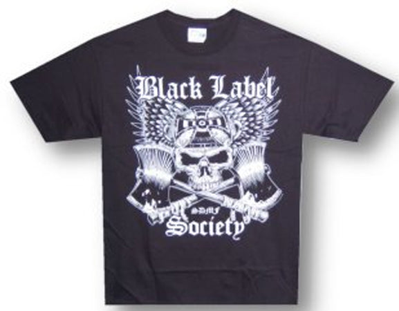 Black Label Society - Crossed Axes - Black  t-shirt