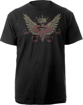 Van Halen - Wings - Black t-shirt