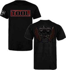 Tool Shaded Box Black t-shirt