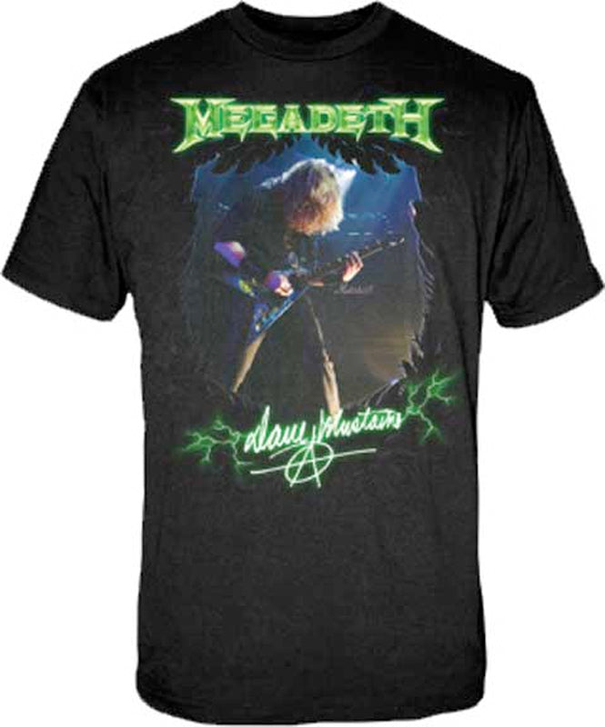 Megadeth -  Dave Photo - Black t-shirt
