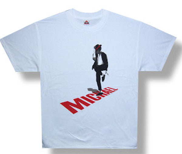 Michael Jackson-Shadow-White T-shirt