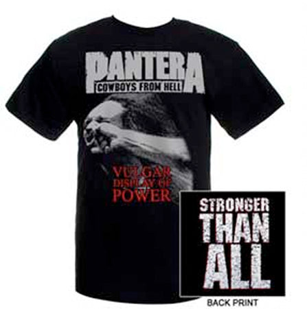 Pantera - Vulgar Display Of Power - Black t-shirt