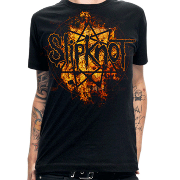 Slipknot Radio Fires logo t-shirt