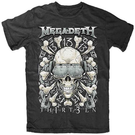 Megadeth - Red Bones - Black t-shirt