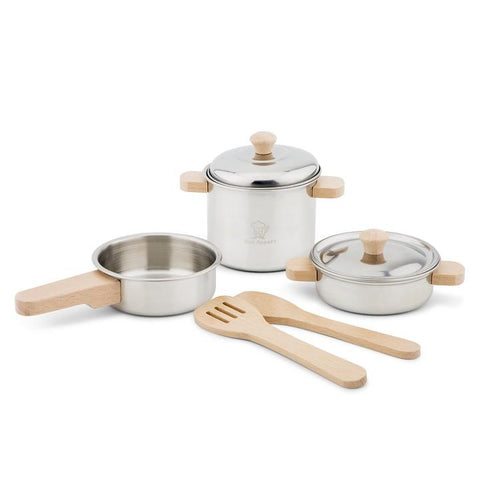 New Classic Toys Metal Pan Set