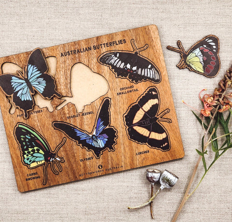 Buttonworks Australian Butterfly Puzzle