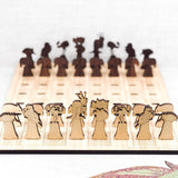 Buttonworks Australian Chess Set