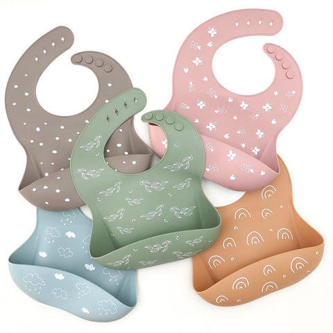 ONE.CHEW.THREE Silicone Catch Bib
