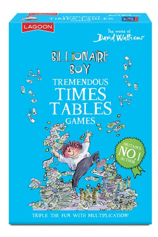 David Walliams Tremendous Times Tables Games