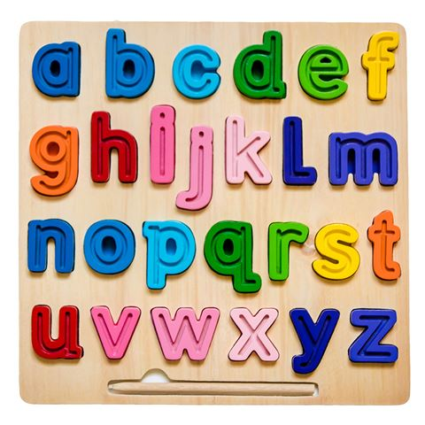 Kiddie Connect abc Chunky Tracing Puzzle