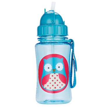 Skip Hop Zoo Straw Bottle 350ml