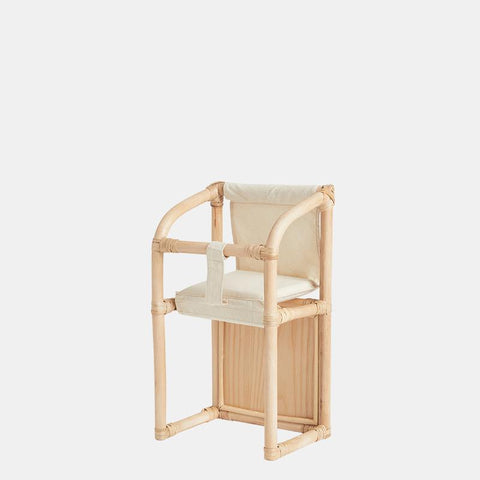 Olli Ella Dinkum Doll Rattan High Chair