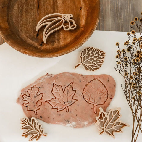 Kinfolk Pantry Leaf Eco Cutter Set