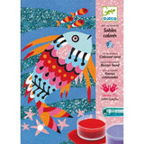 Djeco Rainbow Fish Sand Art Kit