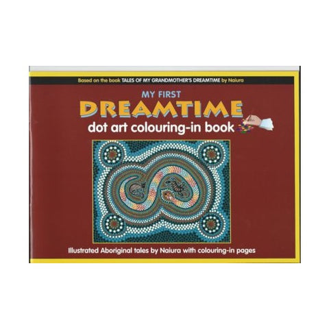 My First Dreamtime: Dot Art Colouring Book 1