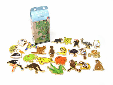 Kaper Kidz Wooden Magnetic Aussie Animals