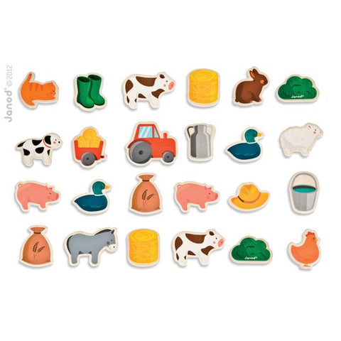 Janod Barnyard Farm Magnets