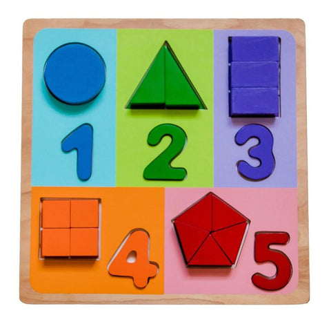 Fractions with Numbers Puzzle
