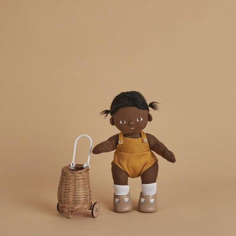 Olli Ella Rattan Doll Luggy