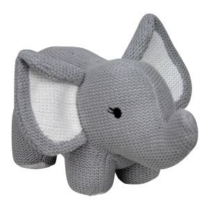 ES Kids Knitted Elephant Rattle