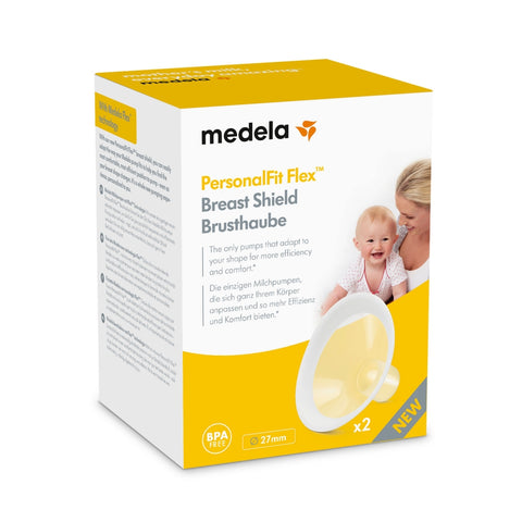Medela Personal Fit Flex Breast Shields 2pk