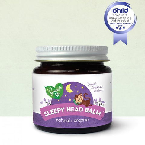 123 Nourish Me Sleepy Head Balm 50g