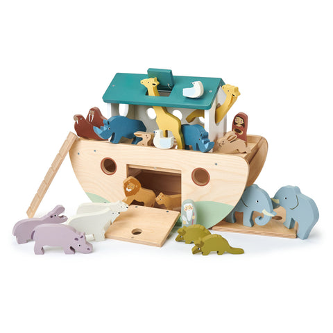 Tender Leaf Wooden Noah's Ark