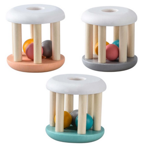 Kaper Kidz Calm & Breezy Wooden Rattle