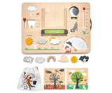 Tender Leaf Toys Wooden Weather Station