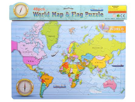 Jigsaw: World Map