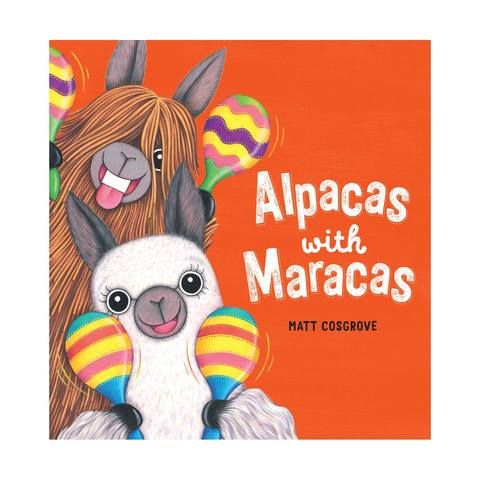 Alpacas with Maracas - Board Book