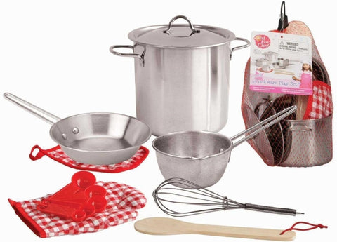 Kaper Kidz Stainless Steel Cooking Playset