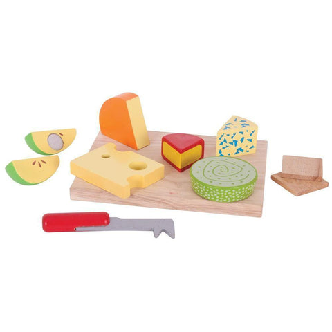 Bigjigs Cheese Board Set