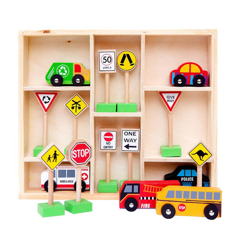 Fun Factory Traffic Sign Set