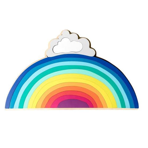 Iconic Rainbow Stacking Puzzle