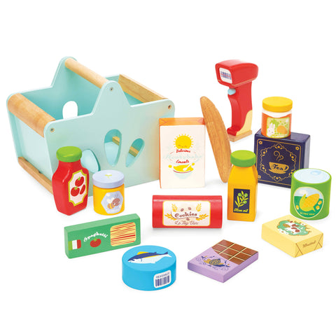 Le Toy Van Honeybake Groceries & Scanner