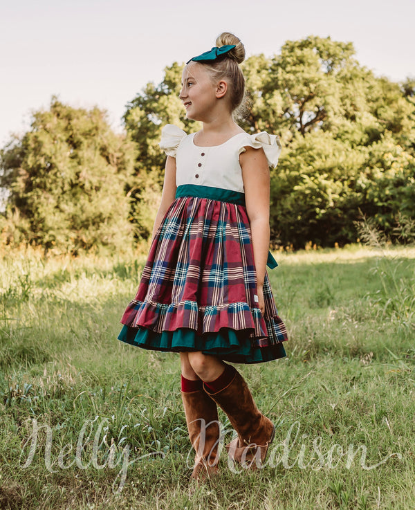 Tartan Classic Christmas Alexandra Dress