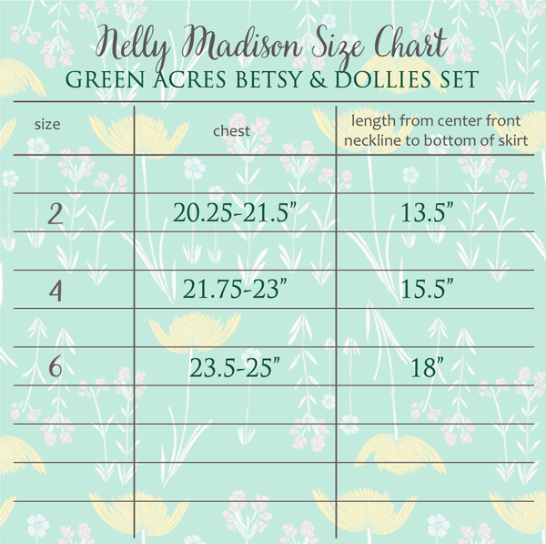 Green Acres Betsy Tunic Set