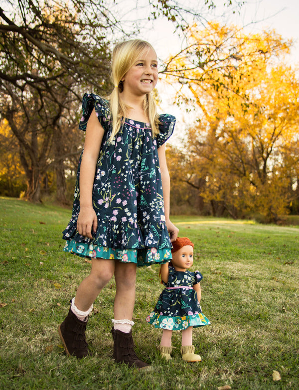 Evening Primrose Doll Dress