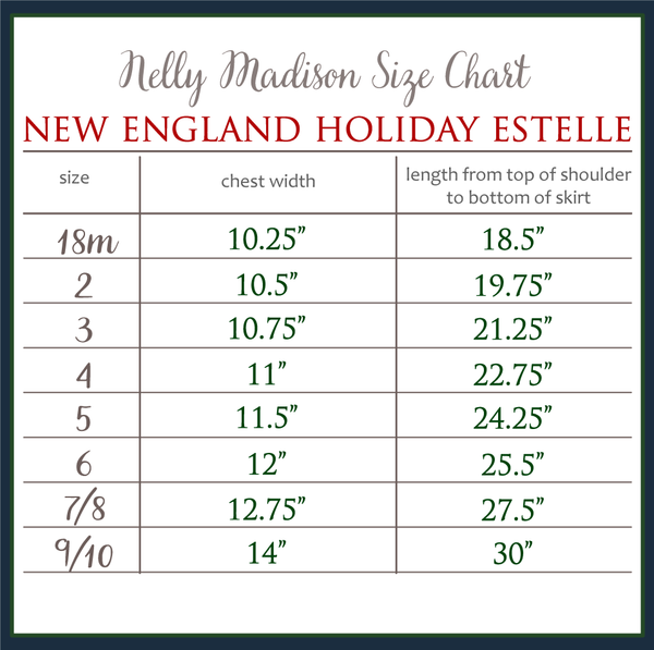 New England Holiday Estelle