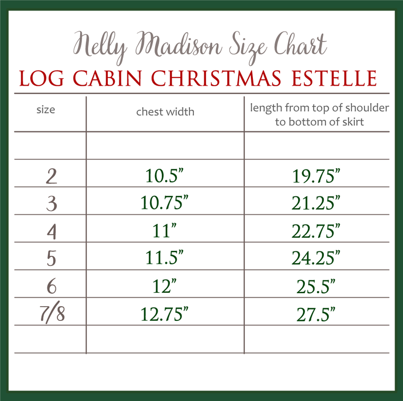 Log Cabin Christmas Estelle
