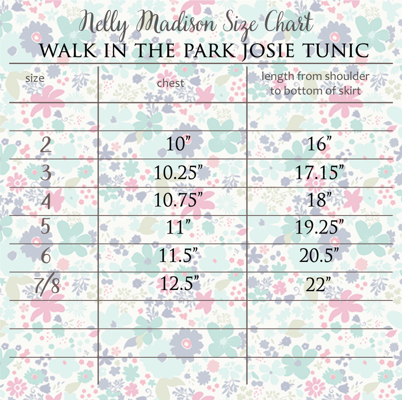 Walk in the Park Josie Tunic