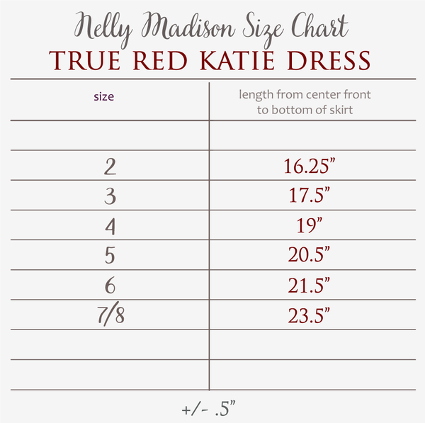 True Red Katie