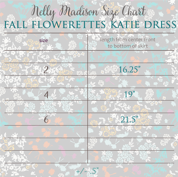Fall Flowerettes Katie