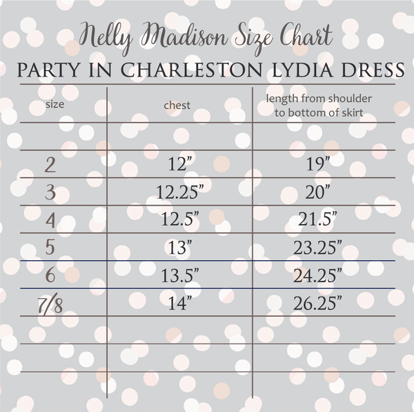 Party in Charleston Lydia Dress